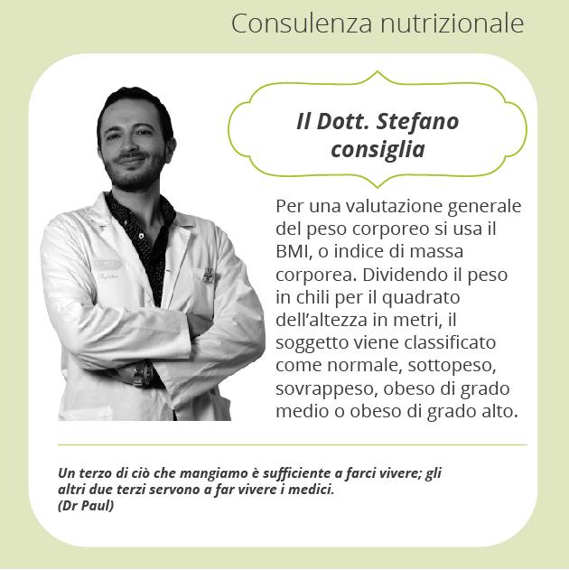 consigli Stefano Consulenza nutrizionale