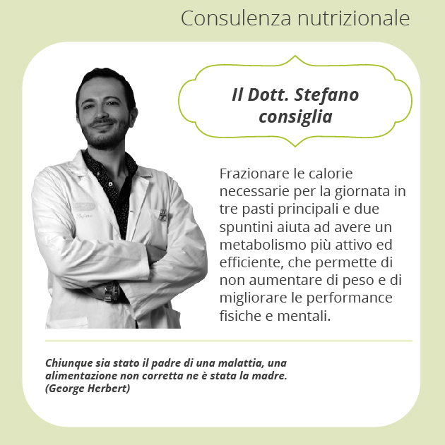 consigli Stefano consulenza alimentare