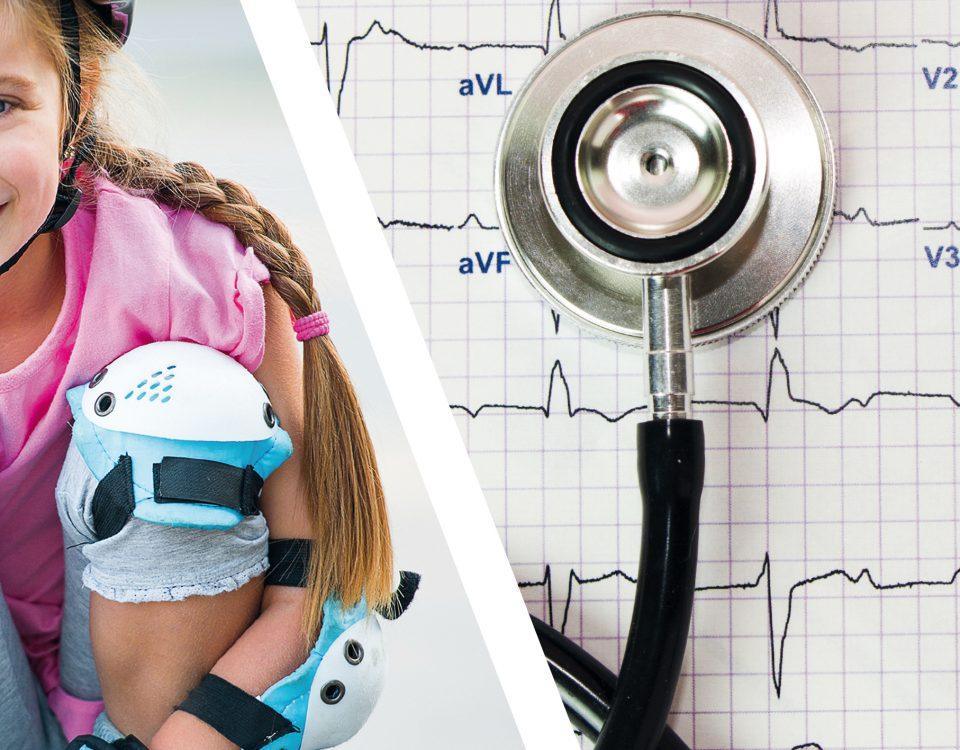 elettrocardiogramma in polisportiva lame